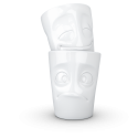 """FIFTYEIGHT Cup, """"Oh Please!"""", white"""
