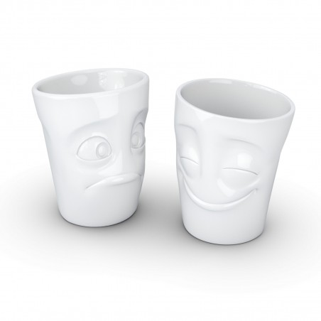 FIFTYEIGHT Espresso cup, kissing, white