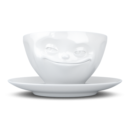 """FIFTYEIGHT Coffee Cup """"Grinning"""""""