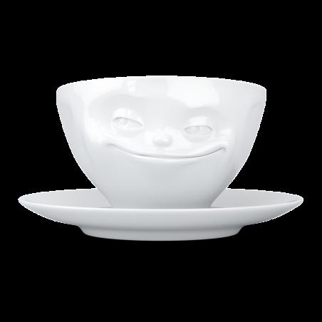 """FIFTYEIGHT Koffiekop """"Grijnzend"""""""