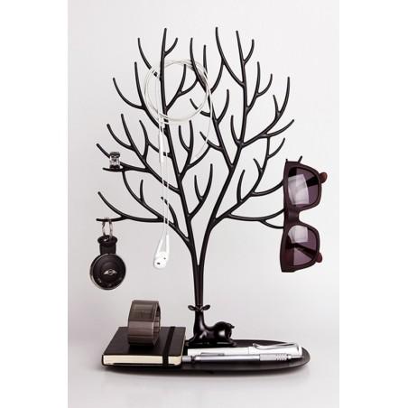 Qualy Juwelenboom Hert (L) - Zwart