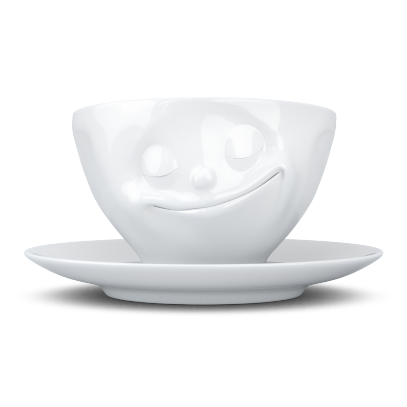 "FIFTYEIGHT Coffee Cup ""Happy"""