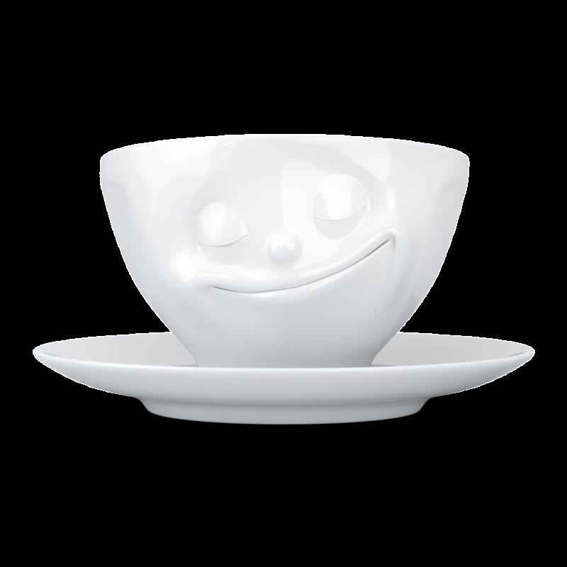 """FIFTYEIGHT Koffiekop """"Gelukkig"""""""